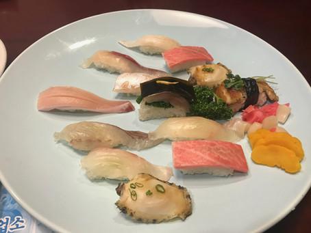Restaurant around Central Hotel  - Akiyama Chobab(Sushi) 아키야마 초밥