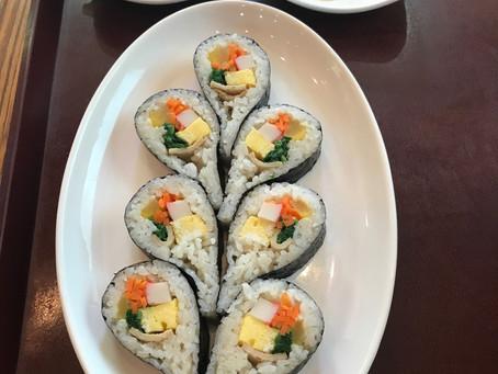 韓国式海苔巻き(セントラルレストラン)