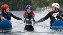 Kids waterski camp