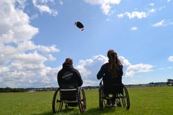 wheelchair kiting