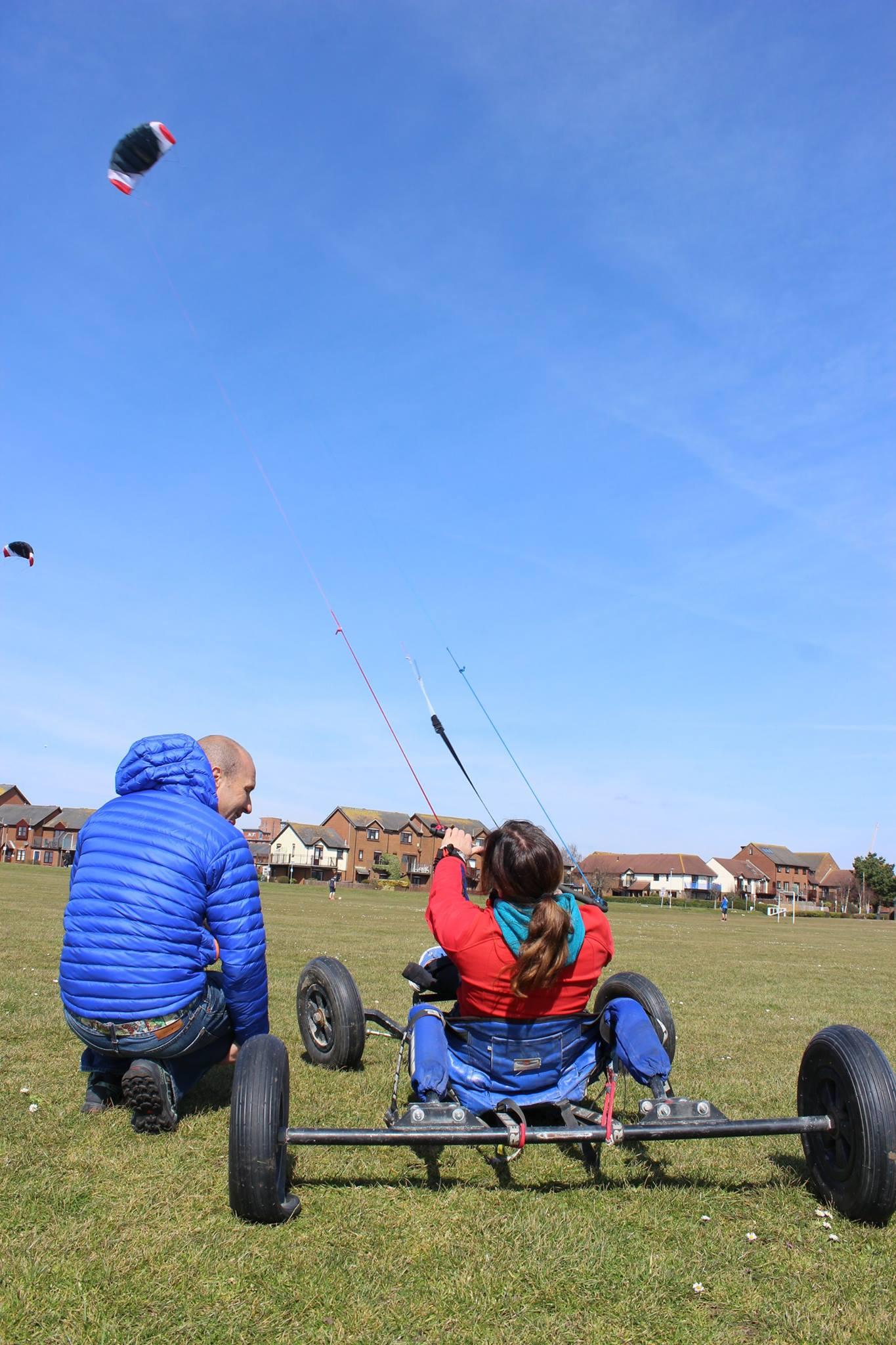 Respecting the kite!