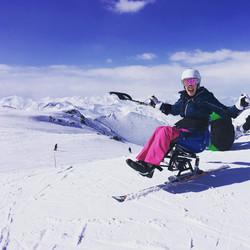 Mono ski fun