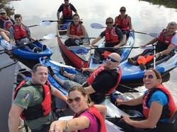 Kayakiing/ canoeing