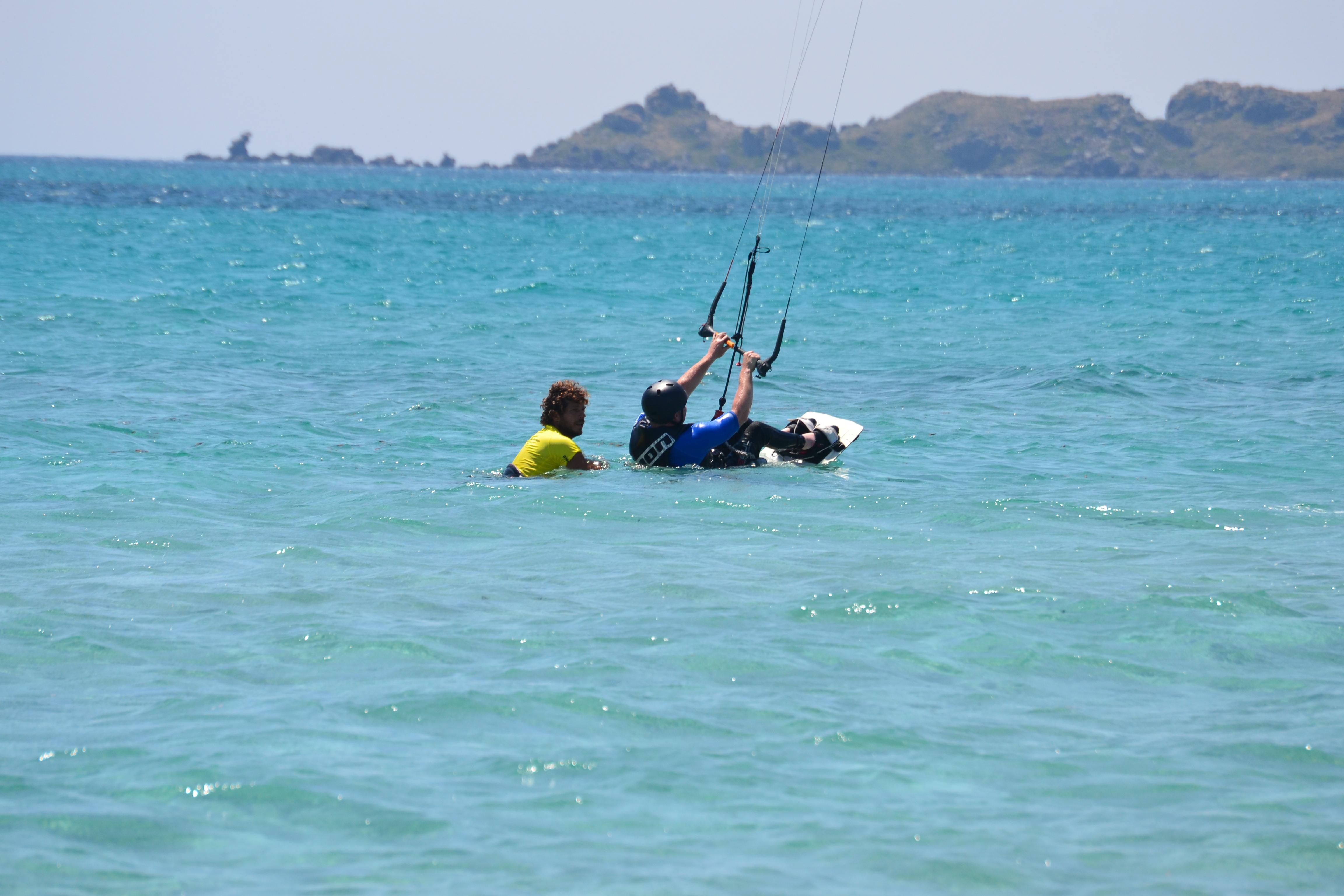 Sit kite