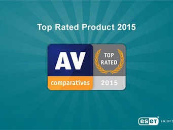 ESET Earns 'Top Rated' Award from AV-Comparatives