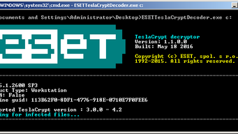 Ransomware On Rampage; Contact ESET for the decryption of affected files