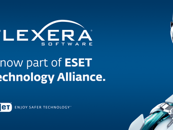Flexera Software Announced as New Member of ESET Technology Alliance