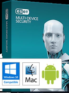 ESET Multi-Device Security 1-3 Users