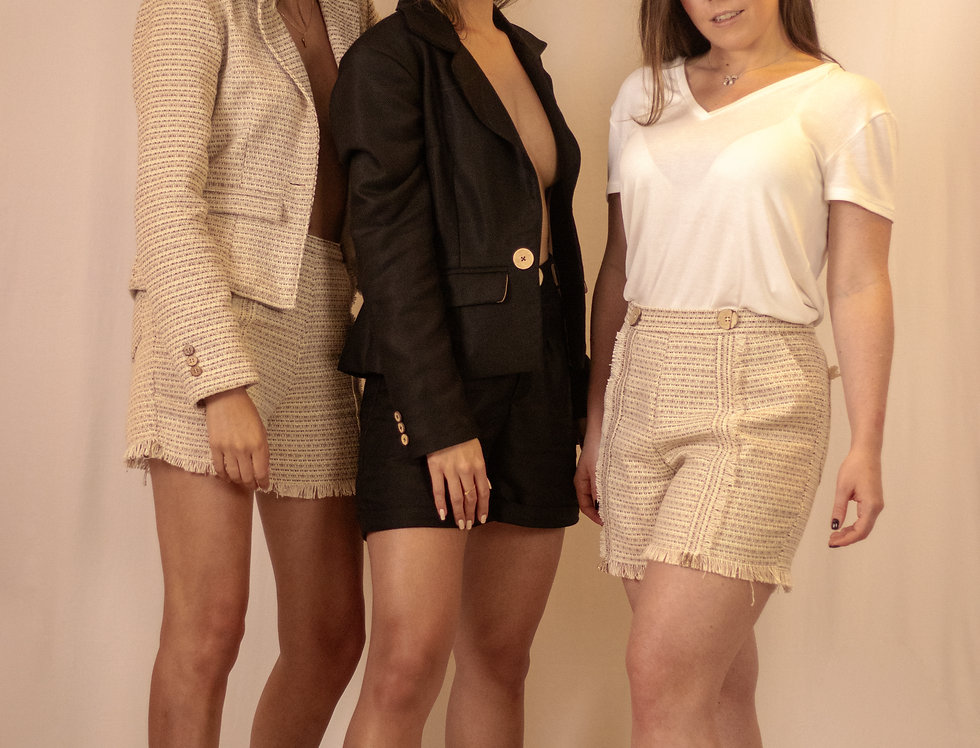 Shorts Tweed - SALE