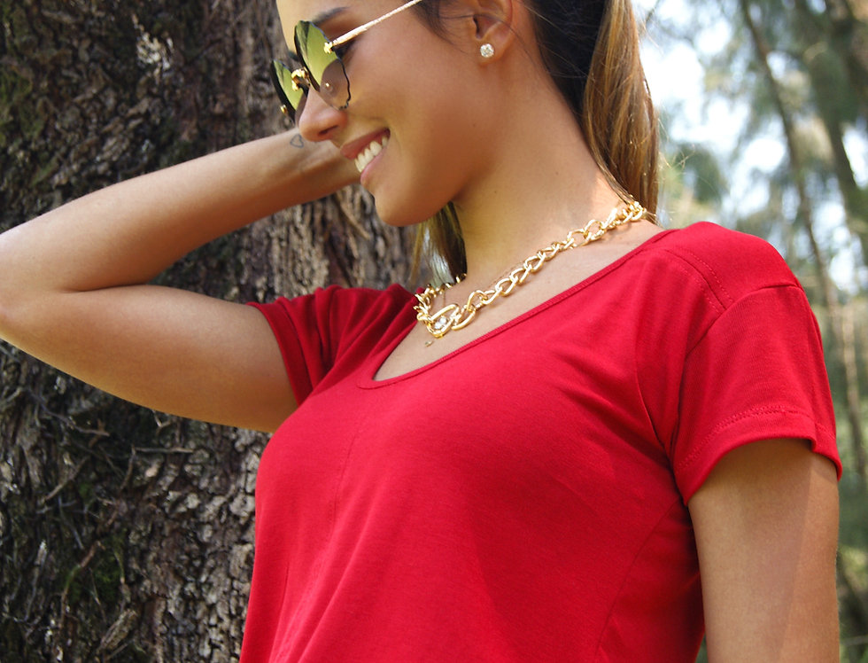 Blusa Fresh Red
