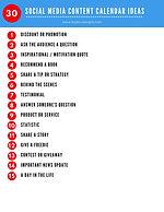 30 Social Media Content Calendar ideas.j