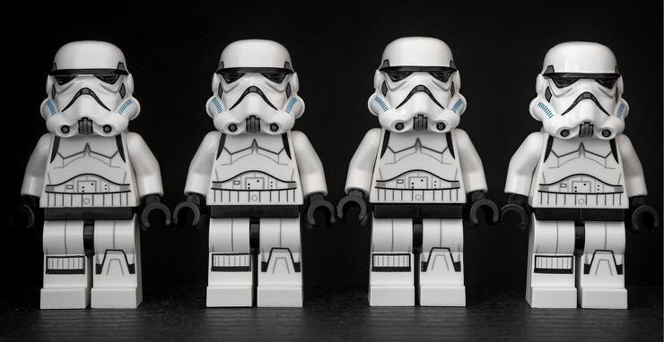 Andrew Martin - Stormtrooper en Pixabay