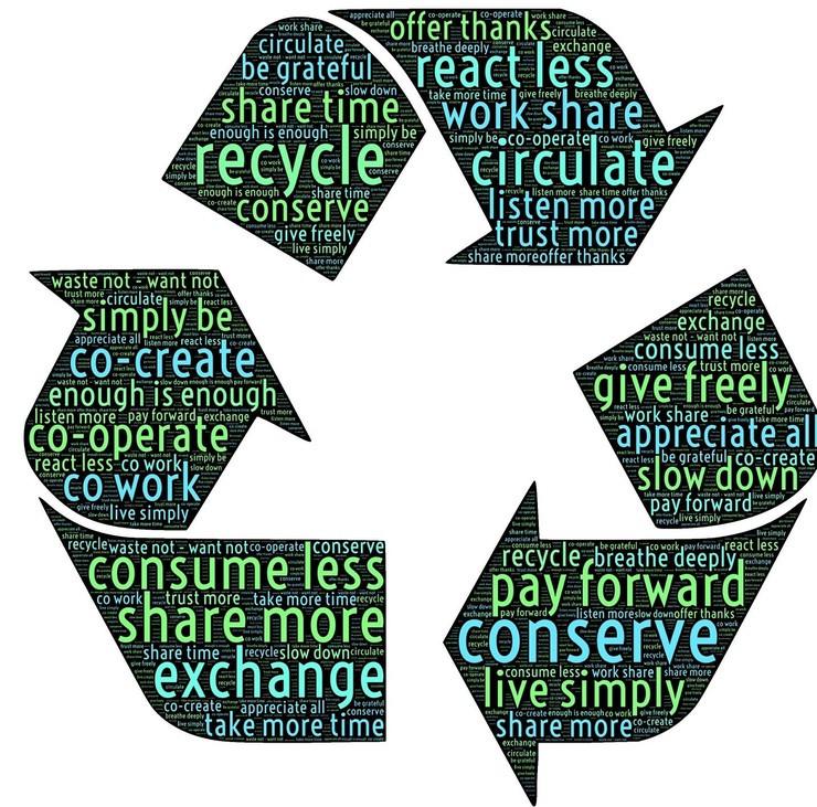 Recycle - John Hain | Pixabay