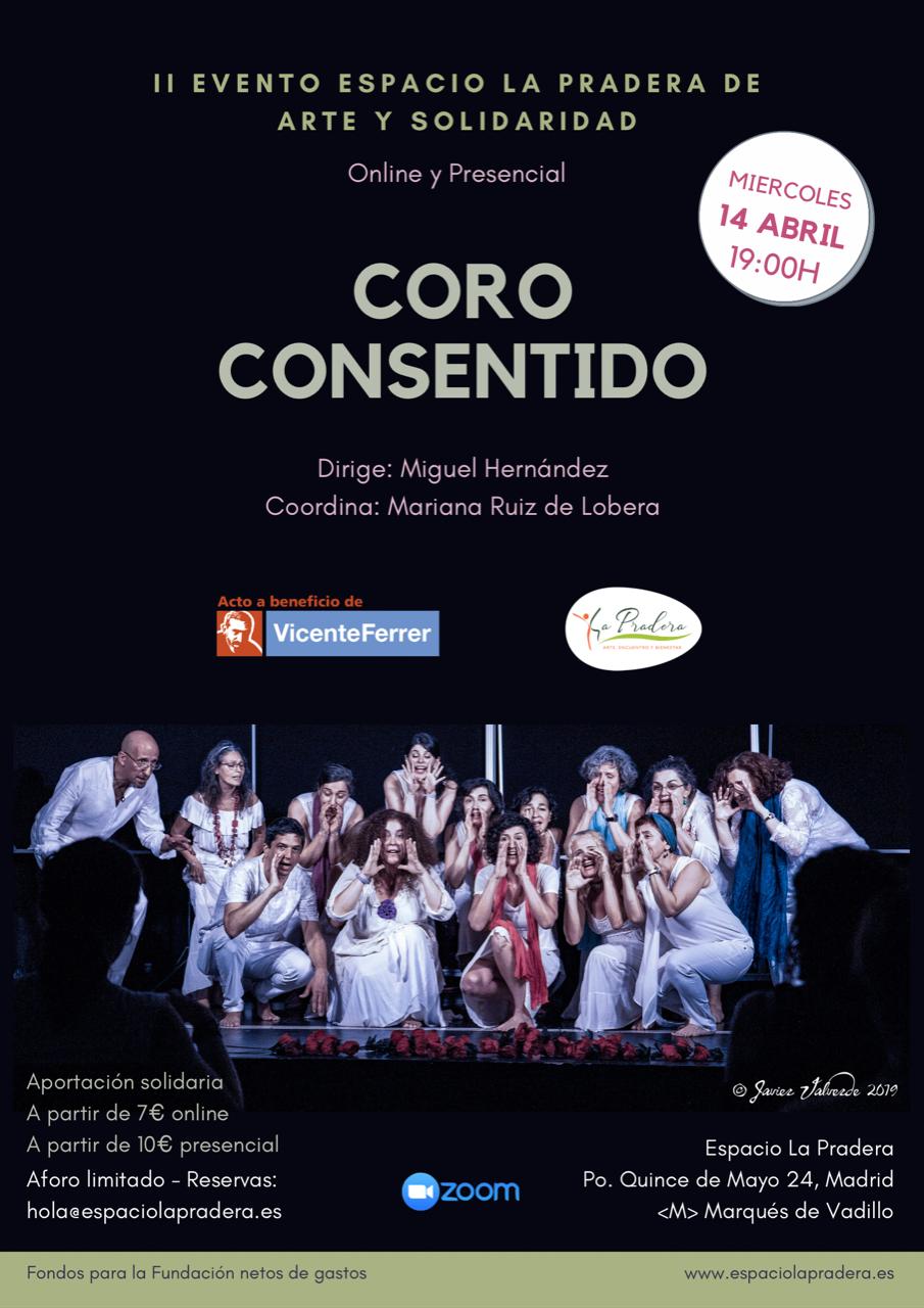 """Poster del Evento """"Coro Consentido"""""""