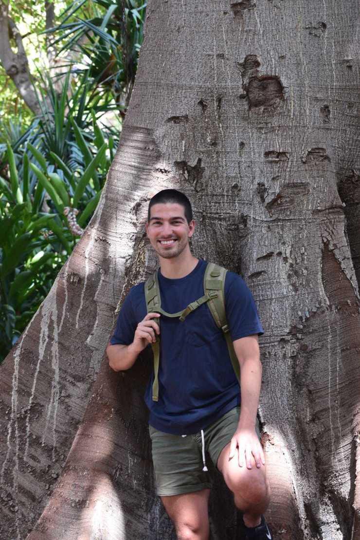 Sergio Sarti fotografiado por Carmen Escolá Arteaga / Iriana Rodríguez Hernández