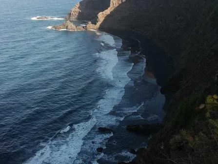 Recycle Walk: Llegada a La Palma