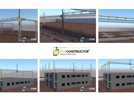 EVOCONS: Construir casas en 3D