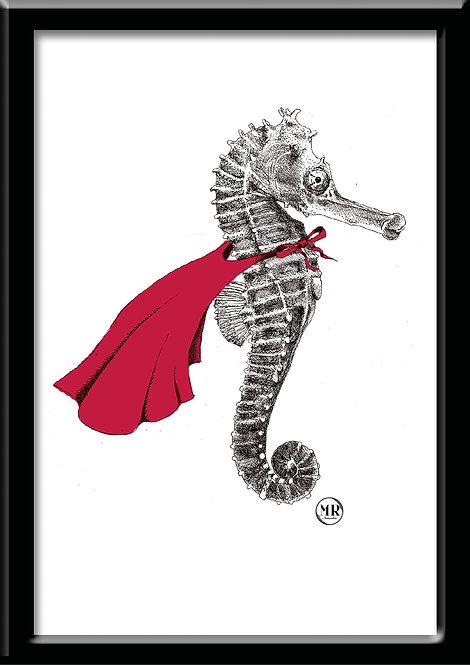 Affiche Hippocampe