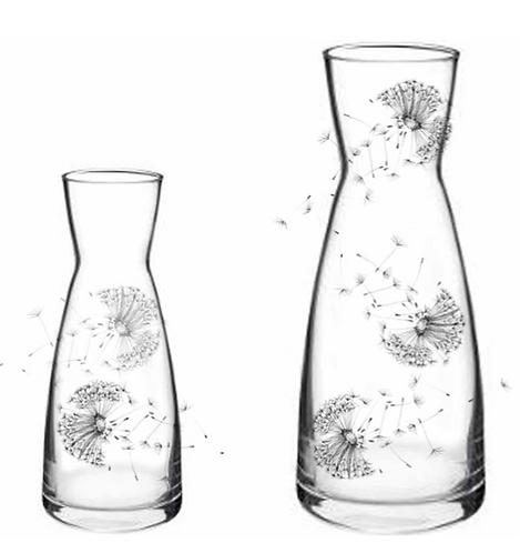 Carafe / vase PISSENLIT