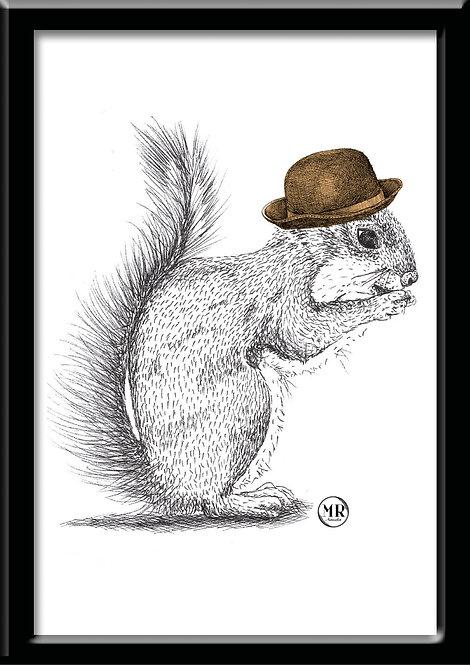 Affiche Écureuil