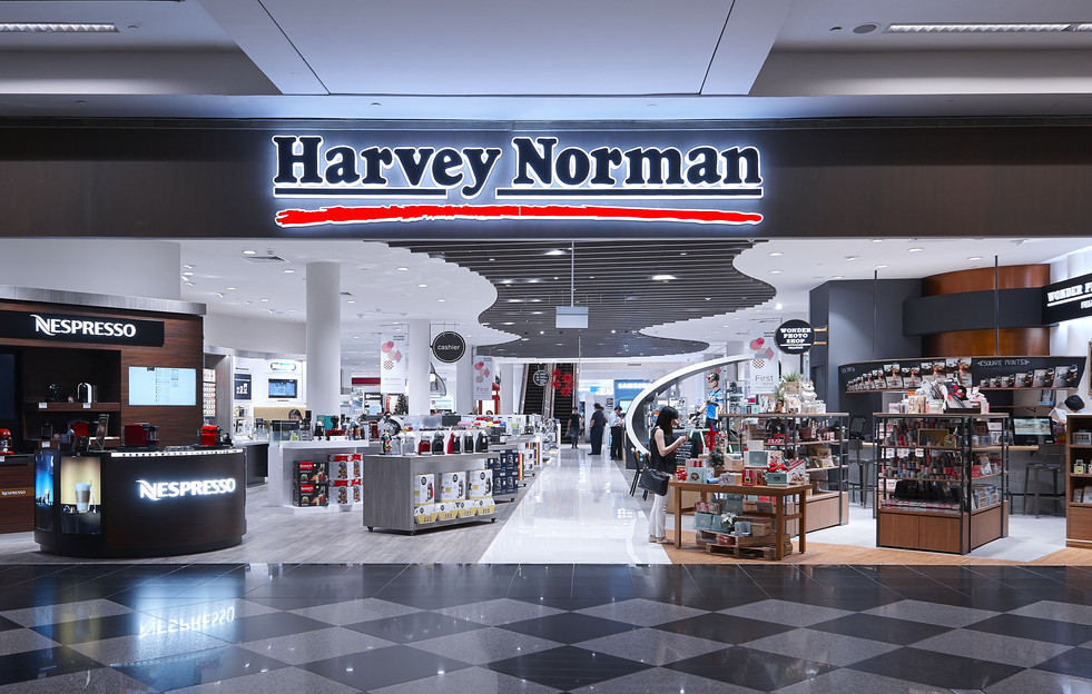 HARVEY NORMAN FLAGSHIP SINGAPORE