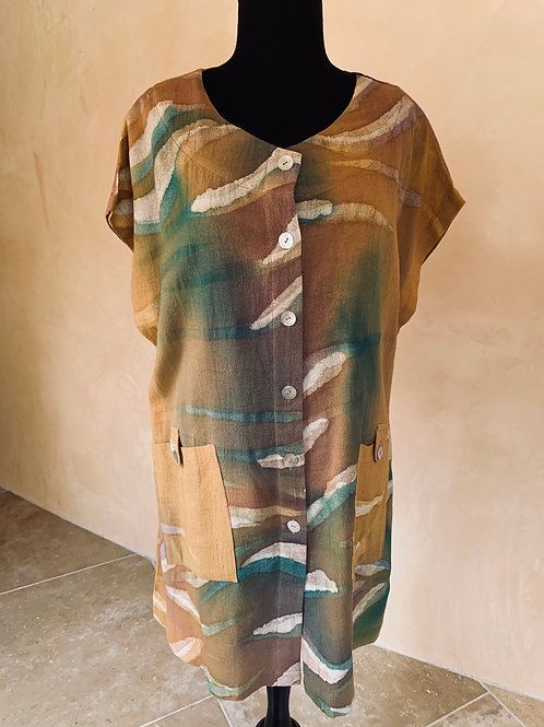 Pastel Hand-Painted Tunic
