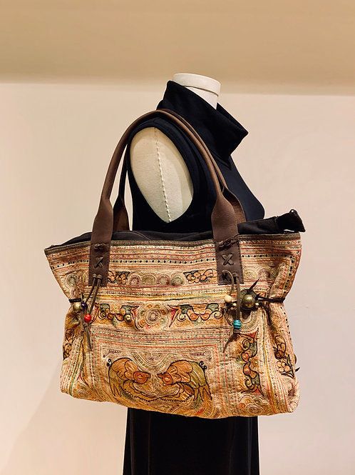 Antique Hill Tribe Bag