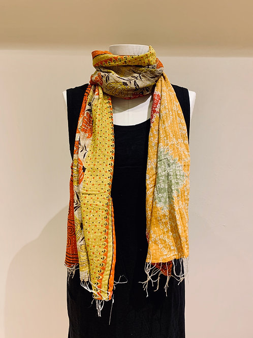 Cotton Sari Scarf