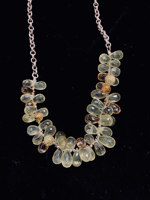 Lemon Quartz Necklace