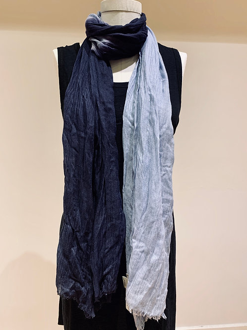 Two Tone Blue Esmee Scarf
