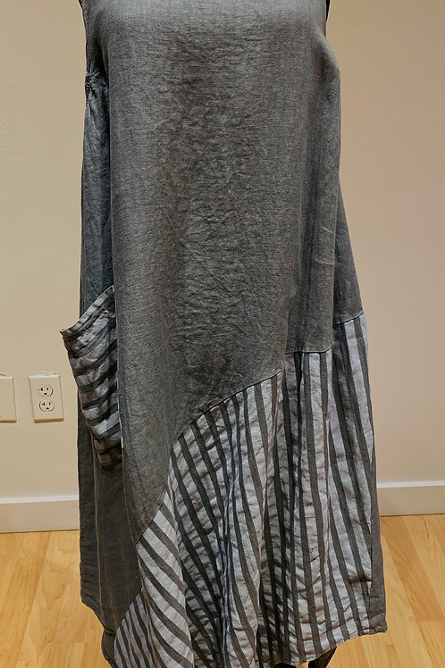 Grey Angela Mara Dress