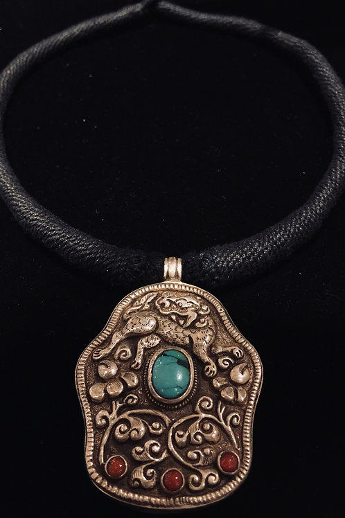 Tibetan Pendant Necklace