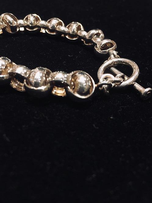 Silver Link Chain Bracelet