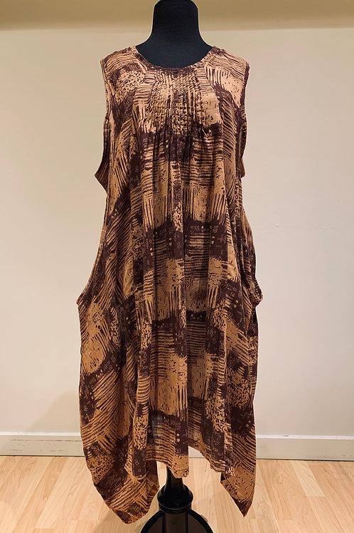 Thai Print Dress