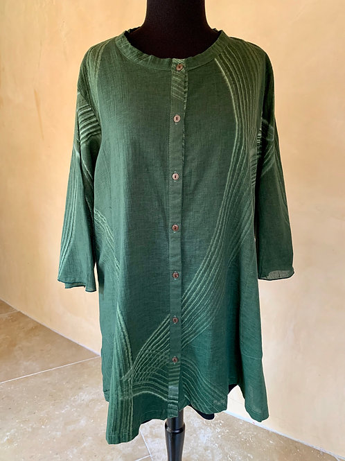 Green Cotton Tunic
