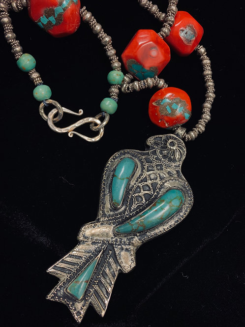 Afghan Pendant Necklace