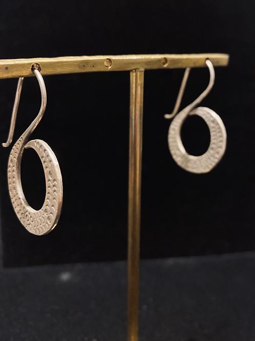 Thai Silver Tribal Earrings