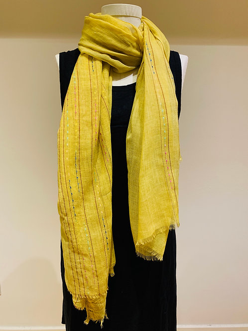 Citron Yellow Scarf
