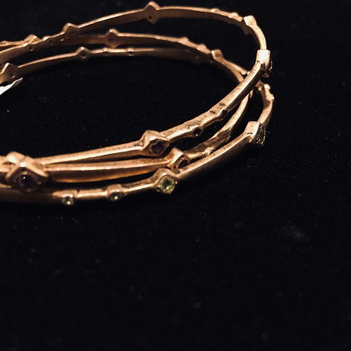 Gold Plated Bangles (Sold Separately)