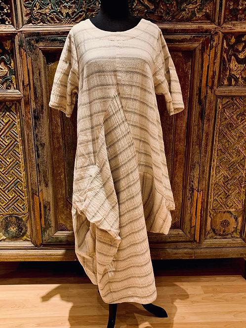 Striped Thai Dress