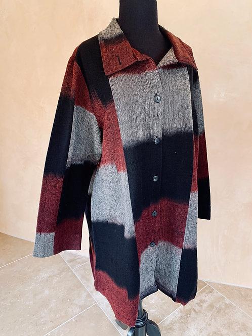 Ikat Coat