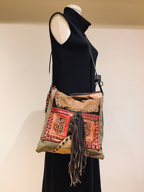 Old Chinese Embroidered Bag