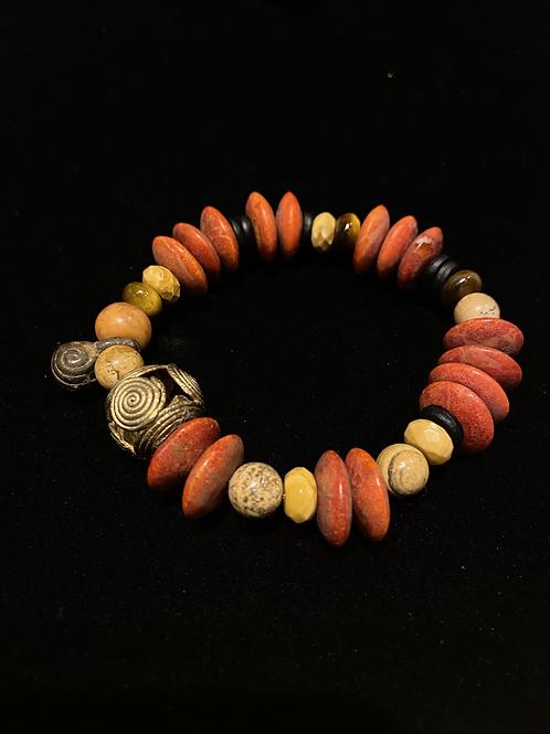 Apple Coral Bracelet
