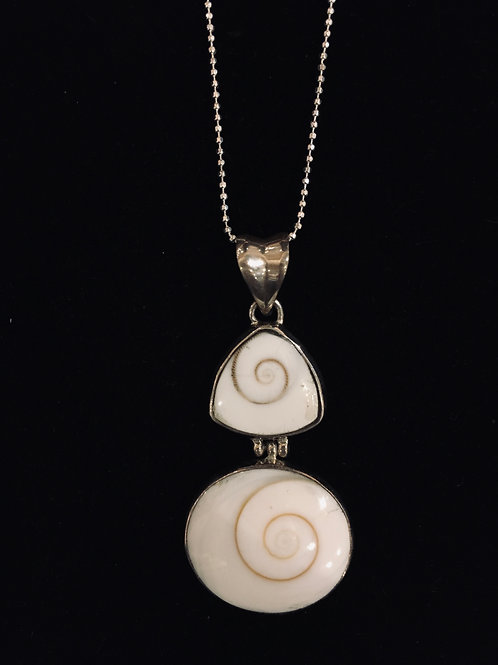 Double Shell Pendant