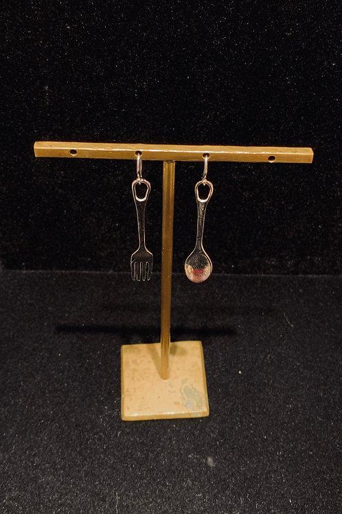 Fork & Spoon Earrings