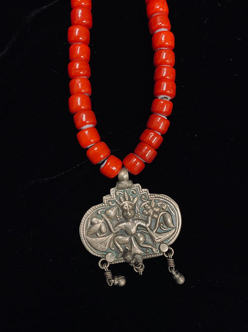 Hanuman Pendant Necklace