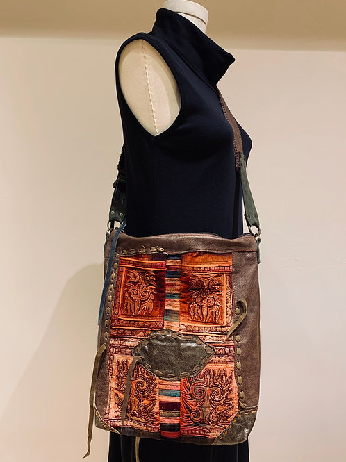 Antique Hill Tribe Purse