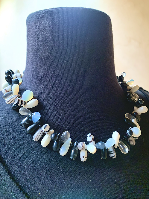 Blue Mali Wedding Beads