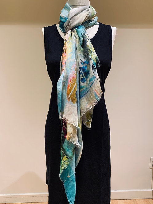 Abstract Eesme Scarf