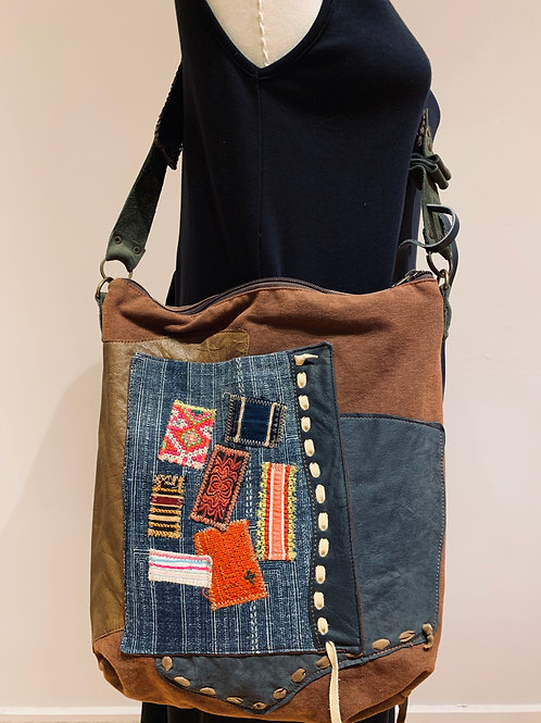 Patchwork Hill Tribe Bag